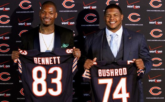 Bears new players