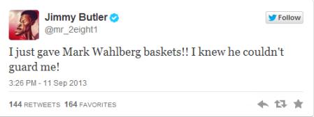 butler tweet