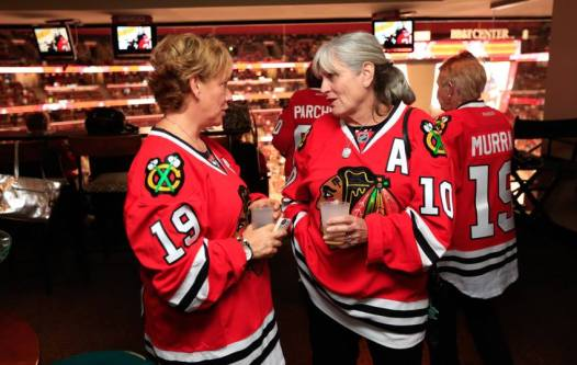 Toews and Sharp moms