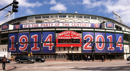 Wrigley-Field-2014-banners-front-gate