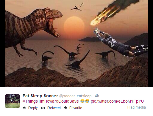 tim howard dinosaurs